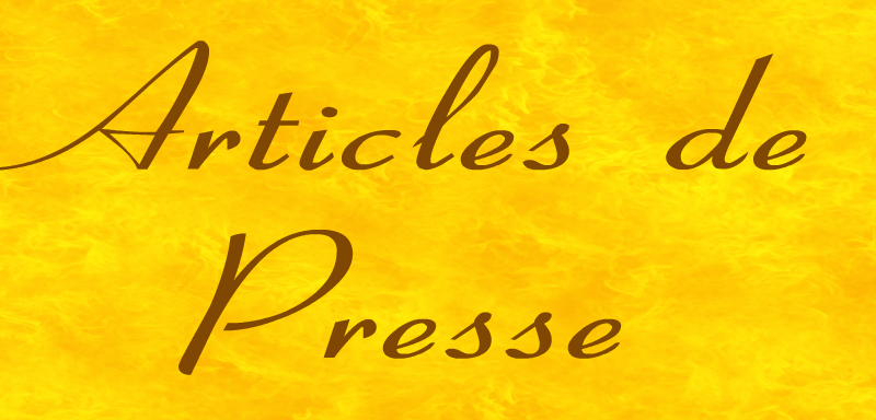 bandeau articles de presse